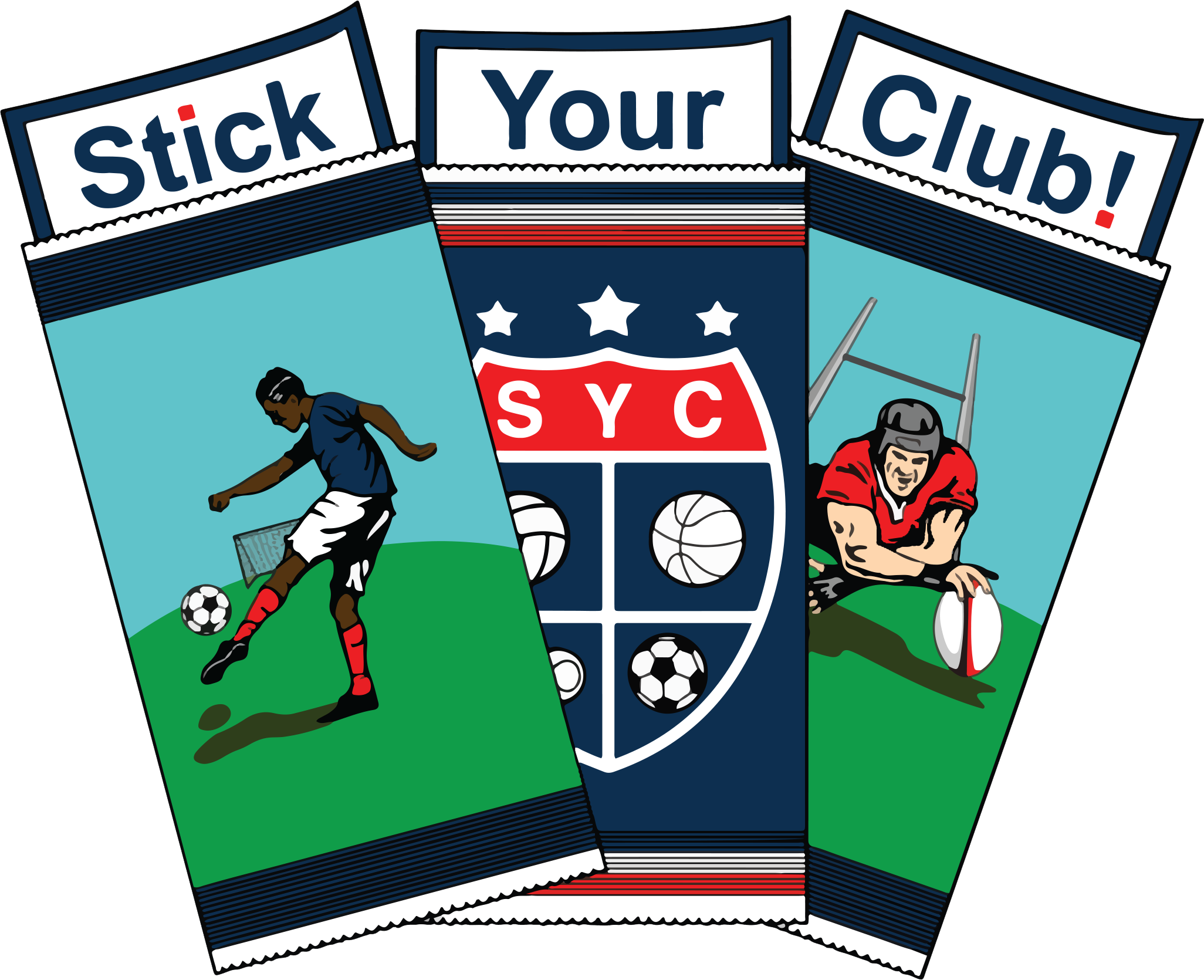 Logo Stick Your Club