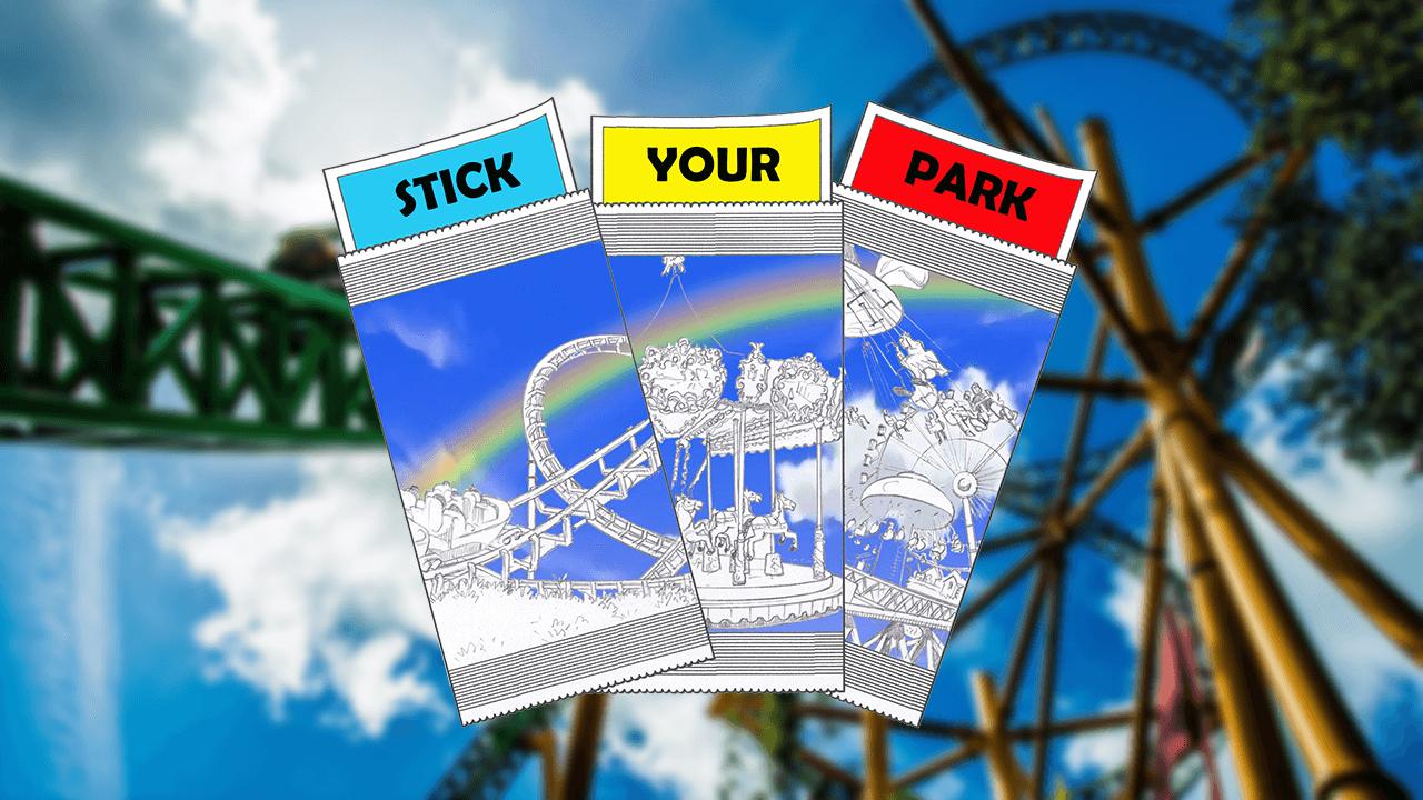 Découvrez Stick Your Park !