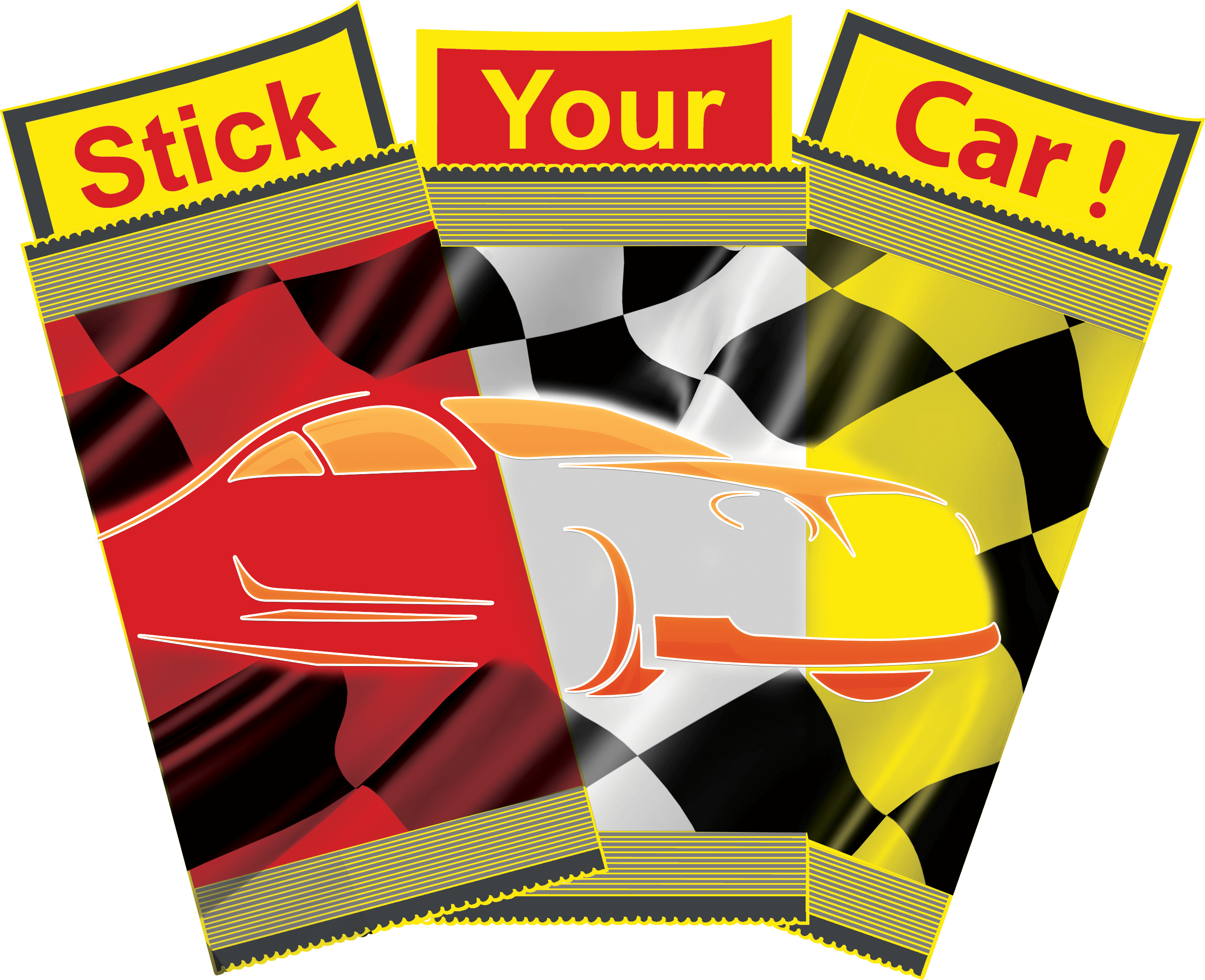 Logo Stick Your Car