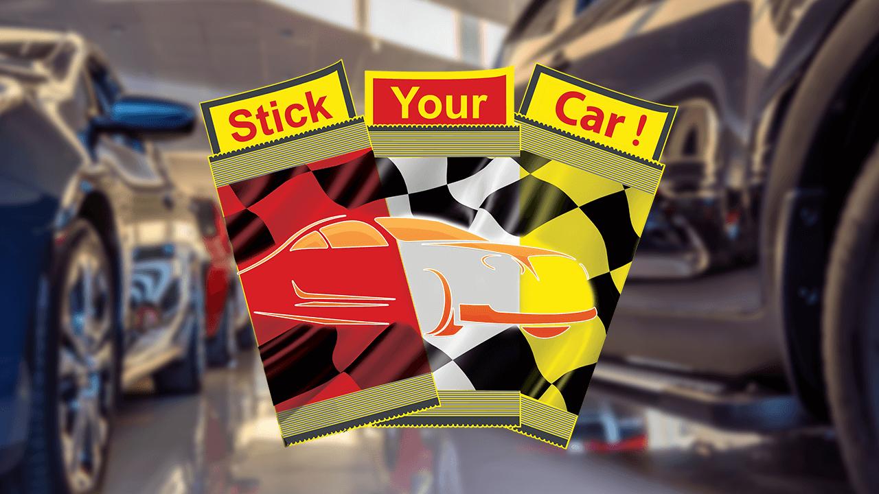 Découvrez Stick Your Car !